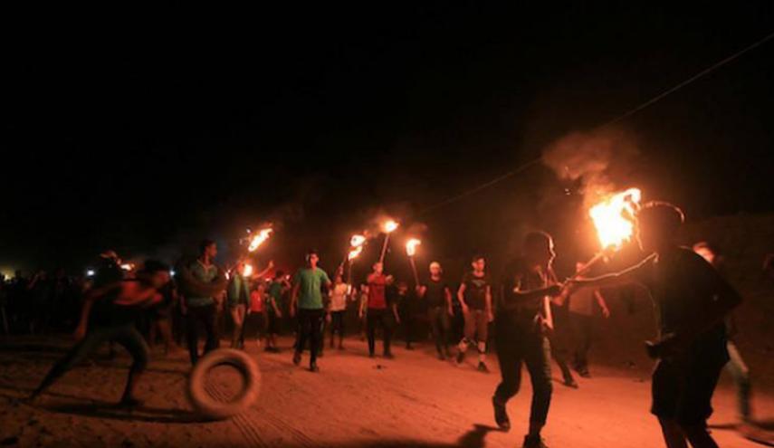 """""""الارباك الليلي""""يتسبب في اختناق بين المواطنين في خانيونس"""