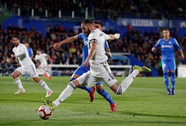 ريال مدريد يشرب كاس التعادل من جديد أمام خيتافي