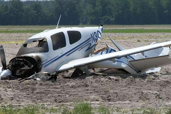 مصرع شخصين بتحطم طائرة في الشرق الاقصي لروسيا