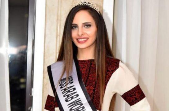 لورين أمسيح تتوج بلقب ملكة جمال فلسطين لعام 2019