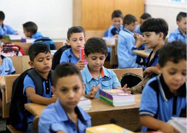 التعليم بغزة دوام المدارس حسب الوضع الميداني
