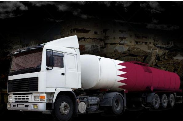 صحيفة اسرائيلية :نتنياهو يوافق علي إدخال الوقود القطري لغزة