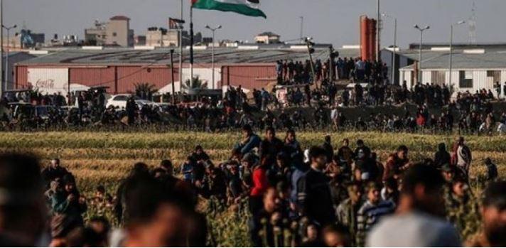 """تحت مسمي جمعة """"صفقة القرن"""" غزة تستعد لجمعة جديدة على الحدود"""