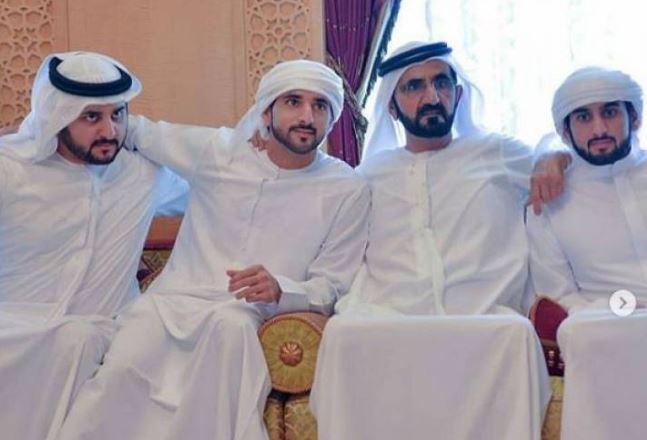 عقد قران جماعي لابناء حاكم دبي بيوم واحد
