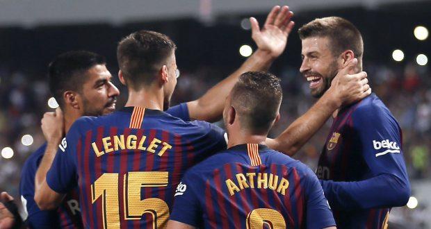 تشكيلة مباراة برشلونة وفالنسيا المتوقعة في نهائي كاس ملك اسبانيا