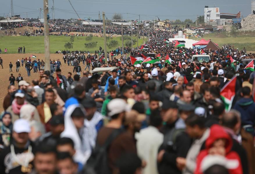 """مسيرات العودة بـ اسم """"جمعة يوم القدس العالمي"""""""