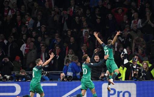 توتنهام يصنع معجزة ضد أياكس ويتأهل الي نهائي مدريد