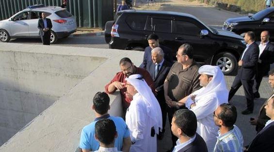 العمادي : سندعم كهرباء غزة والأسر الفقيرة لنهاية العام