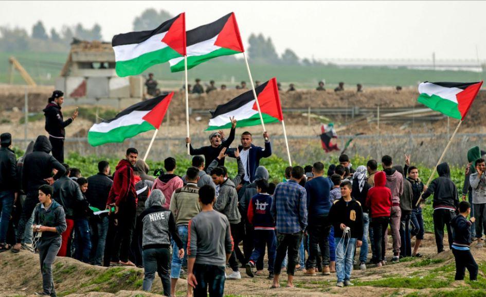 احياء ذكرى النكبة على حدود قطاع غزة
