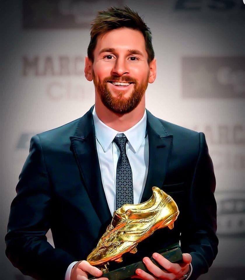 رسمياا : ليو ميسي يفوز بجائزه الحذاء الذهبي للمره السادسه