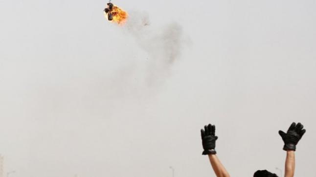 مصر تحذر حماس من اطلاق البالونات الحارقة والصواريخ علي اسرائيل