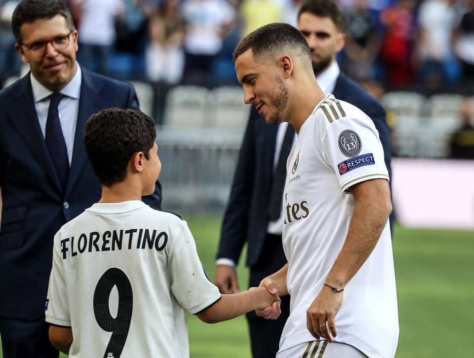 رسميا ريال مدريد يقدم هازارد لاعب للفريق