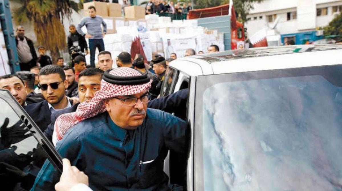 بعد صرف المساعدات محمد العمادي يغادر غزة
