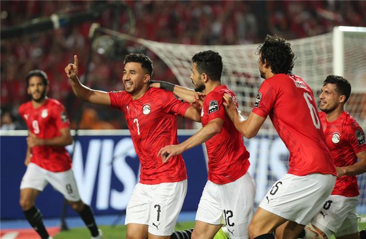مصر تحقق الفوز الاول في بطولة كاس الامم الافريقية ضد زمبابوي