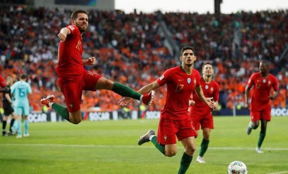 البرتغال تتوج بدوري الأمم الأوروبية