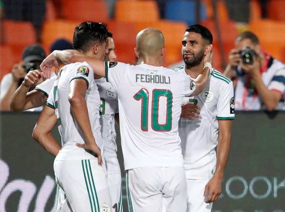 """الجزائر تتأهل لنهائي""""الكان"""""""