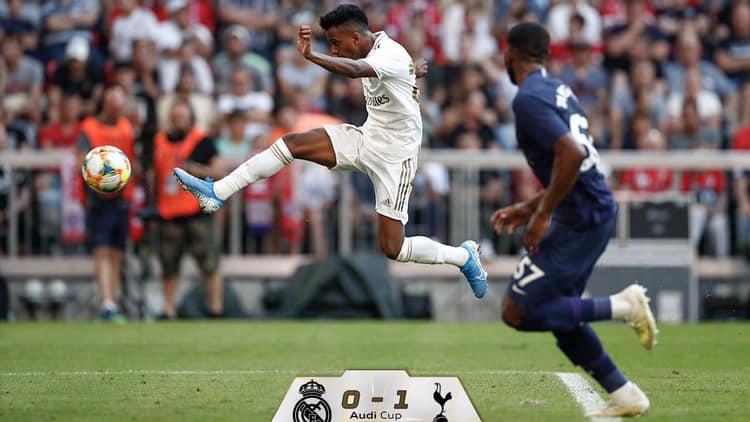 توتنهام يهزم ريال مدريد كأس أودي
