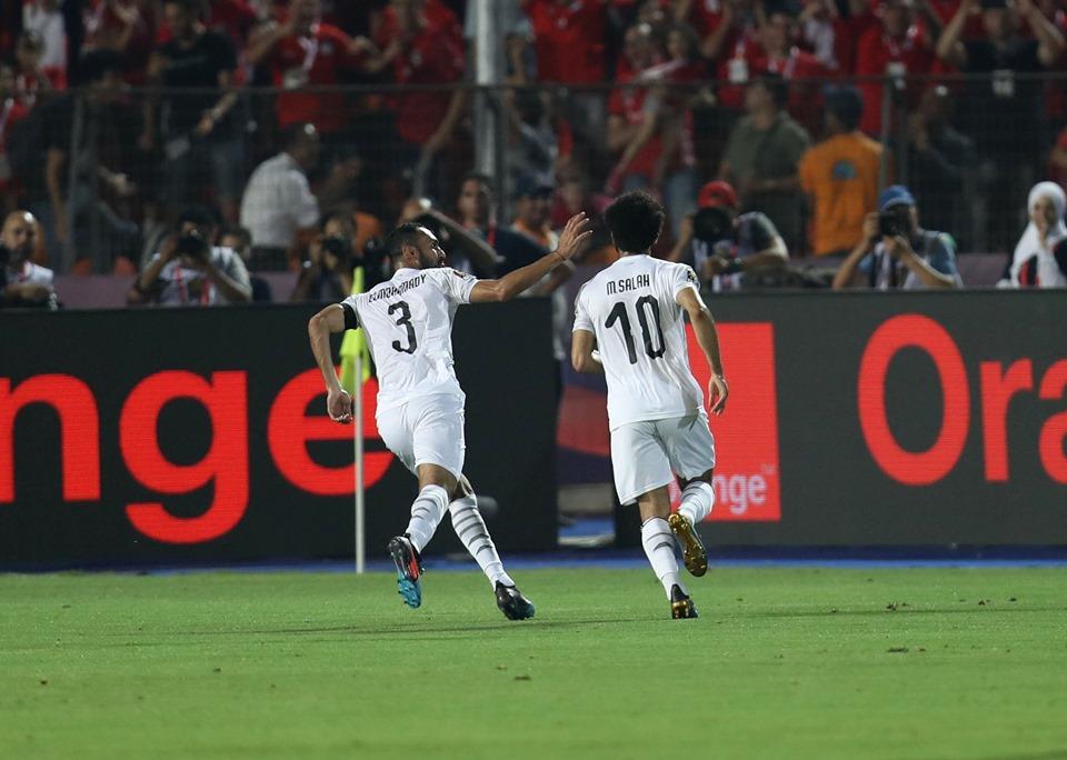 المنتخب المصري يحقق فوزا علي غندا