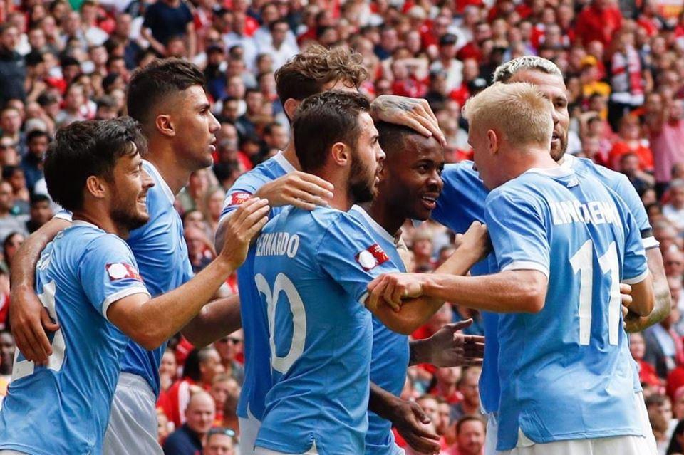 رسميا : مانشستر سيتي يتوج بلقب كاس الدرع الخيرية بعد الفوز على ليفربول