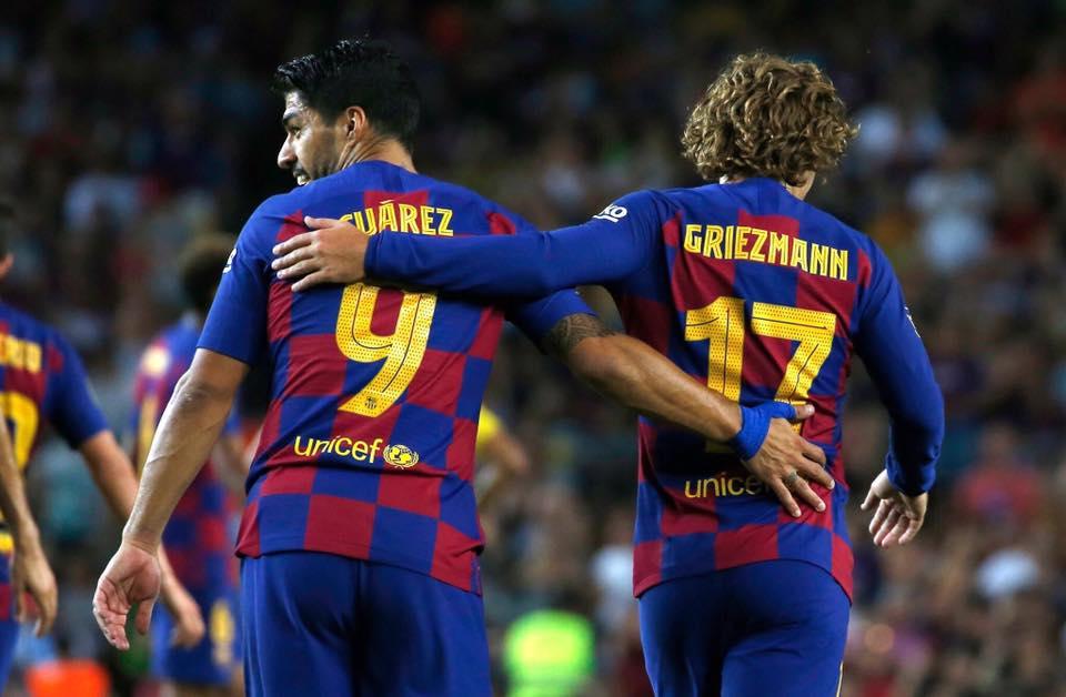 برشلونة يفوز على ارسنال ويتوج بكأس غامبر الودية