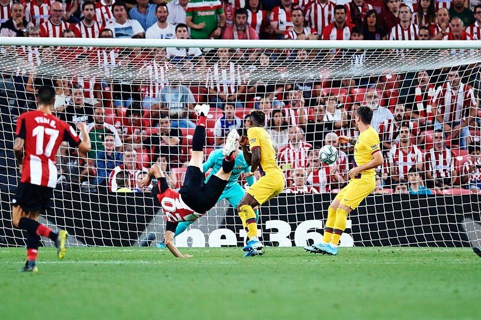بلباو يضرب برشلونة في الوقت القاتل