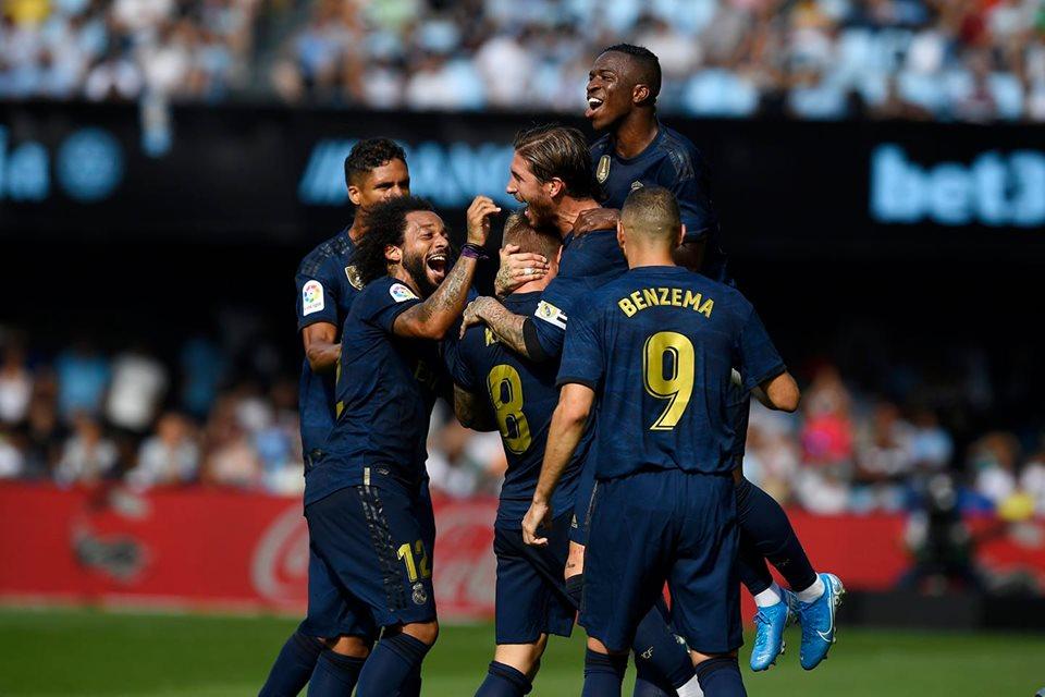 ريال مدريد يلتهم سيلتا فيغو في افتتاحية الليغا