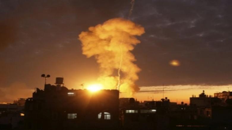 انفجارين في غزة واسرائيل تنفي الاستهداف