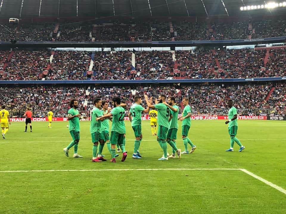 ريال مدريد يسحق فنربخشة بخماسية