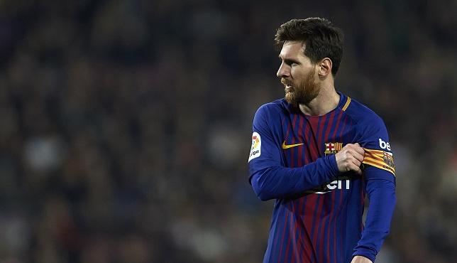 برشلونة يقاتل فالنسيا بدون ميسي في الليغا