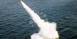 إطلاق صاروخين تجريبيين نحو البحر