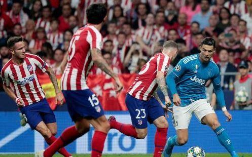 يوفنتوس يقع في فخ التعادل امام أتلتيكو مدريد