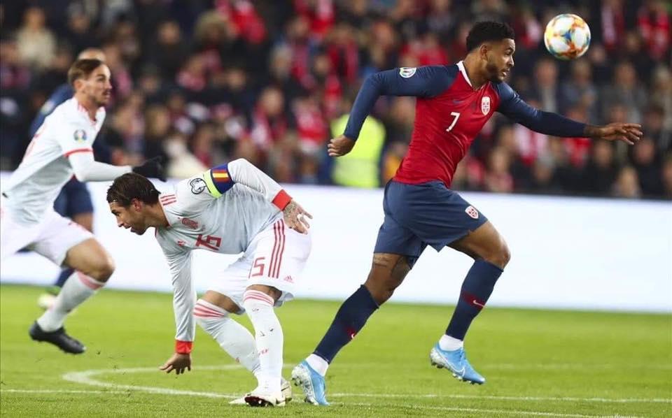 النرويج تفرض التعادل على اسبانيا في اخر ثواني