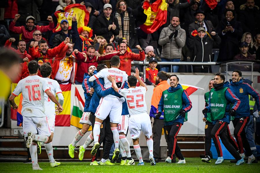 اسبانيا تتأهل رسميا الى يورو 2020 بعد التعادل مع السويد