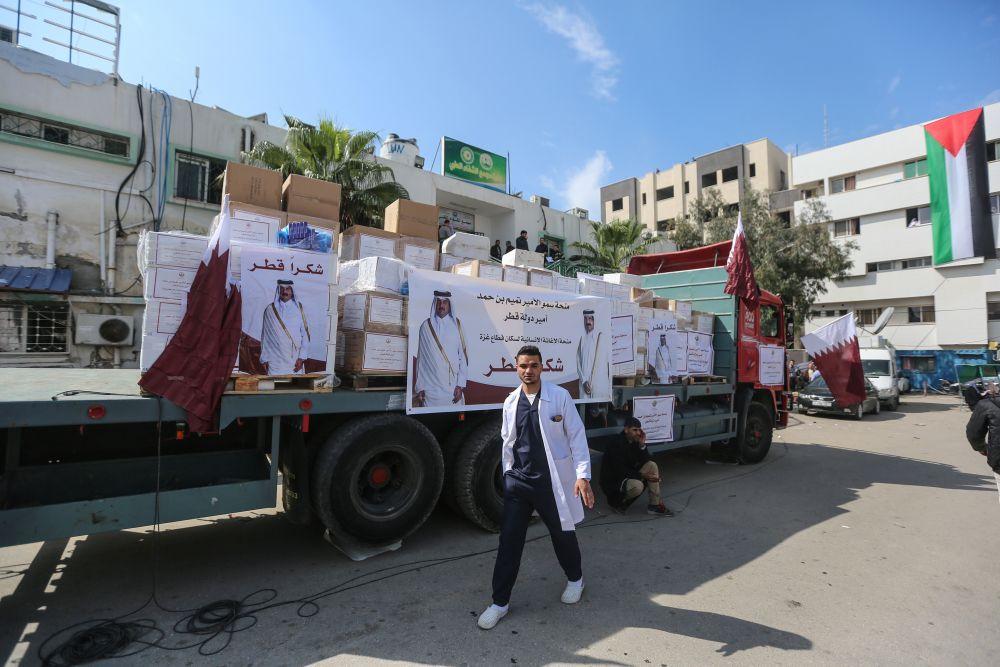 اكثر من نصف سكان غزة يعتمدون على المساعدات