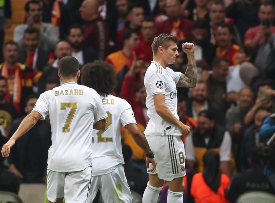 ريال مدريد يحقق اول فوز له بدوري الابطال هذا الموسم