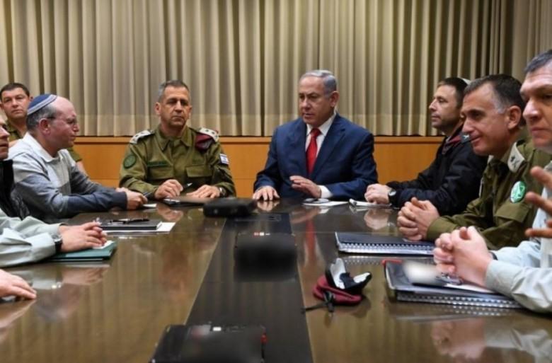 اجتماع طارئ للكابينت لبحث التصعيد على جبهة غزة