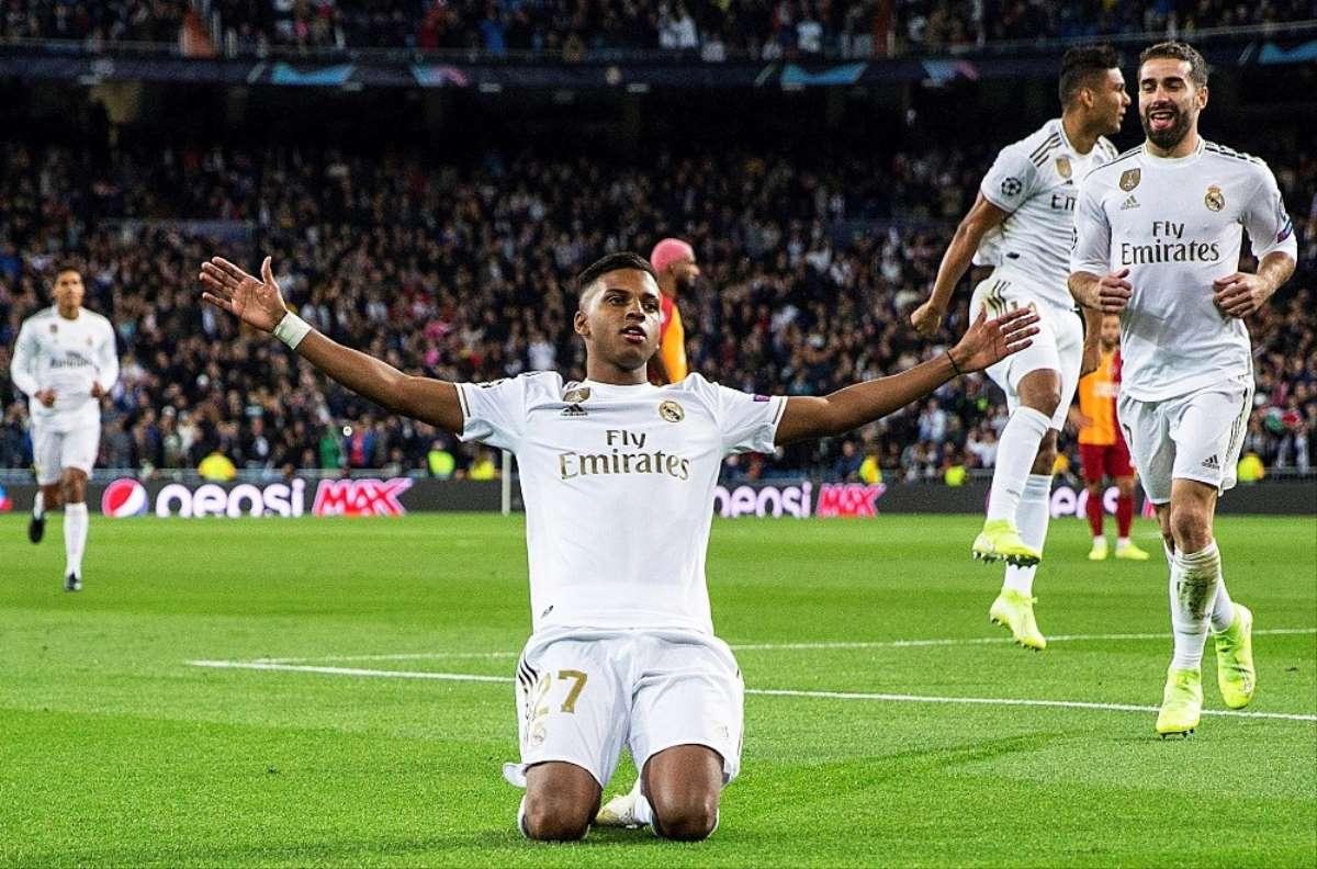 ريال مدريد يكرم شباك جالطة سراي بسداسية