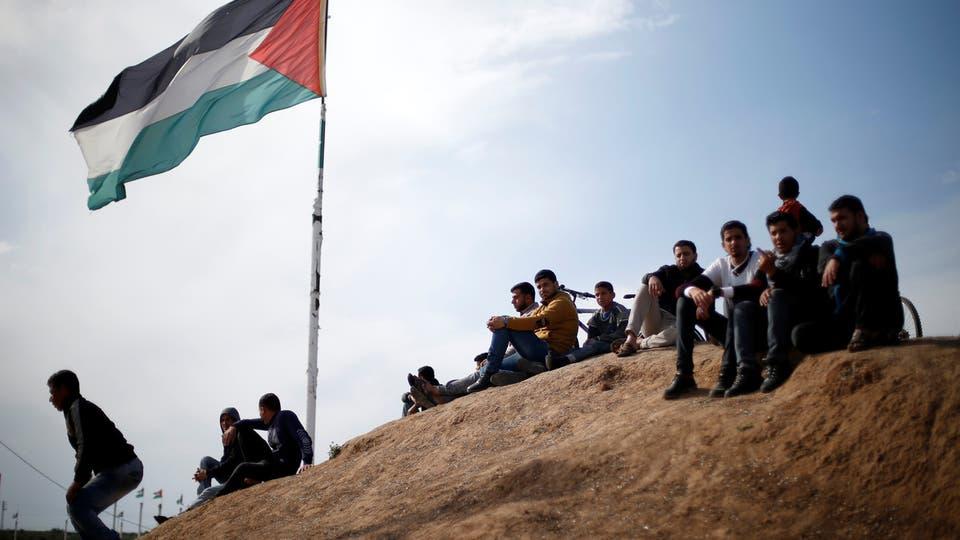 انطلاق فعاليات مسيرات العودة علي حدود غزة