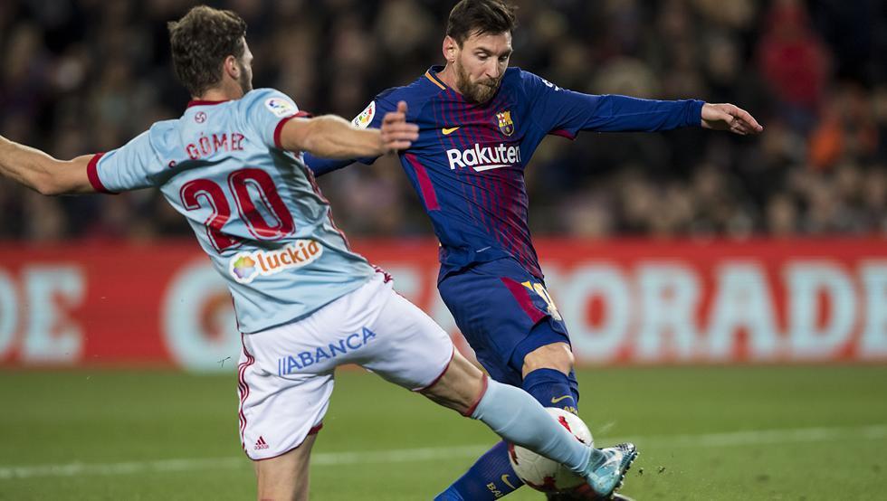 برشلونة يواجه سيلتا فيغو في الليغا
