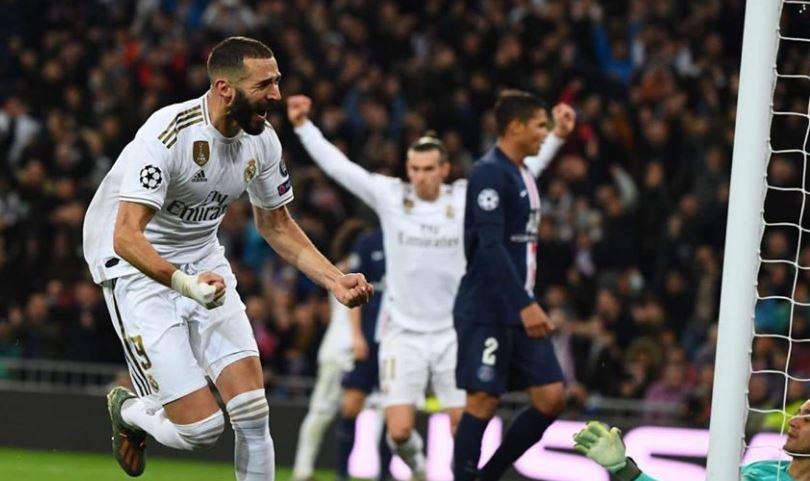 ريال مدريد يضيع فوز مستحق علي باريس يكتفي بالتعادل