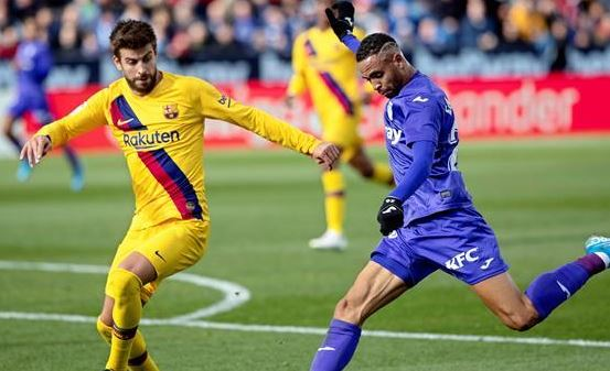 برشلونة يحقق انتصار صعب علي حساب ليجانيس
