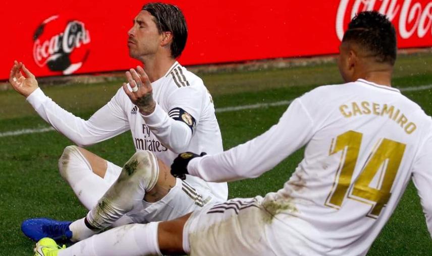 ريال مدريد يتصدر الدوري بعد الفوز علي الافيس