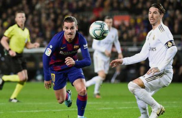 برشلونة يخطف تعادل غير مستحق امام ريال مدريد