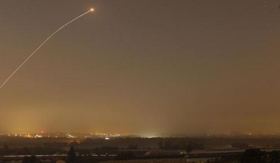 رصد إطلاق صاروخ علي عسقلان