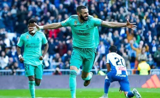 ريال مدريد يفوز علي العنيد اسبانيول في البرنابيو