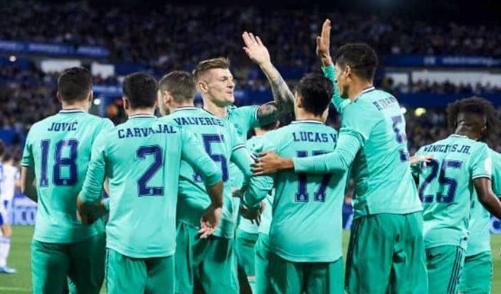 ريال مدريد يلحق بركب المتأهلين لدور ربع النهائي في كأس ملك
