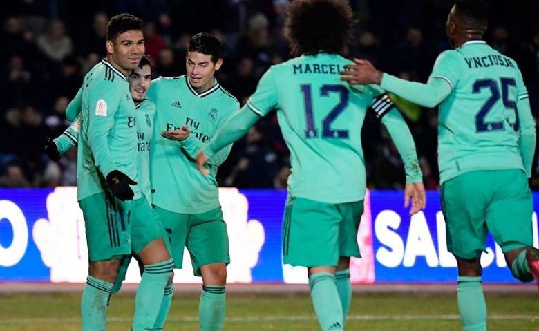ريال مدريد يتأهل للدور ربع النهائي من كأس ملك اسبانيا