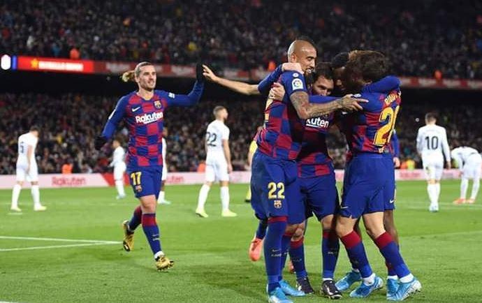 برشلونة يحقق فوز علي غرناطة تحت قيادة كيكي سيتين