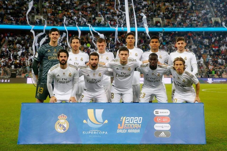 ريال مدريد يتوج بالسوبر الاسباني رقم 11 في تاريخه
