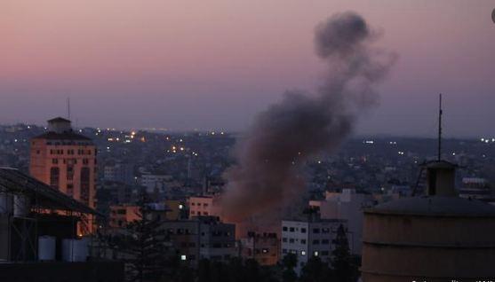 استمرار التوتر بين غزة واسرائيل لليوم الثاني